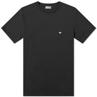 Christian Dior Homme Embroidered Bee Tee Black