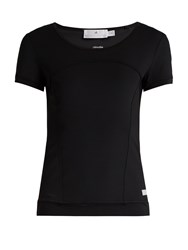 Adidas By Stella Mccartney Essentials Short Sleeved Performance T Shirt Black