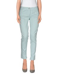 Manila Grace Denim Trousers Casual Trousers Women Sky Blue
