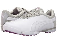 Puma Sunnylite V2 White Gray Violet Purple Cactus Flower Women's Golf Shoes