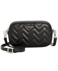 Nine West Nicolina Small Crossbody Black Black