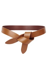 Etoile Isabel Marant Lecce Brown Leather Belt Tan