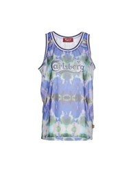 Carlsberg Topwear Vests Women Blue