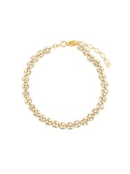 Ca And Lou Eva Necklace With Crystal Balls Gold