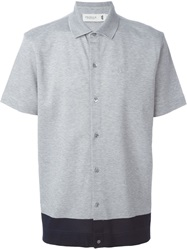 Pringle Of Scotland Contrast Hem Shirt