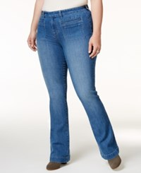 Styleandco. Style Co. Plus Size Curvy Tuscon Wash Bootcut Jeans Only At Macy's