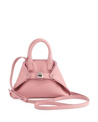 Akris Ai Micro Leather Crossbody Bag Pink