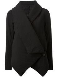 Forme D'expression Padded Asymmetric Jacket Black