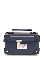 Globe Trotter Centenary 9 Mini Vanity Case Blue