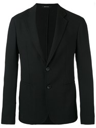 Giorgio Armani Two Button Blazer Black