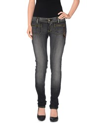 Met In Jeans Denim Denim Trousers Women Steel Grey