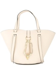 Zac Posen Belay Small Tote Nude And Neutrals