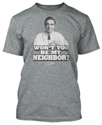 New World Mr. Rogers T Shirt By Grey