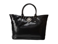My Flat In London Mademoiselle Tote Black Tote Handbags