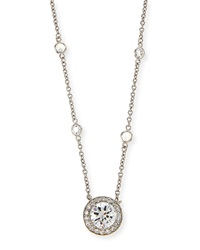 Cubic Zirconia By The Yard Pendant Necklace Fantasia By Deserio