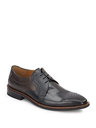 Giorgio Brutini Leather Brogues Black Grey