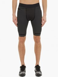 Y 3 Sport Charcoal Techfit Shorts