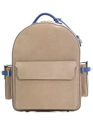 Buscemi Zipped Backpack Brown