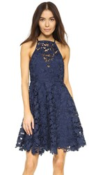 Keepsake Acoustic Lace Dress Navy