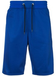 Givenchy 4G Side Band Shorts Blue