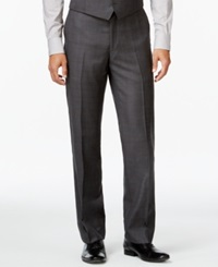 Ryan Seacrest Distinction Slim Fit Gray Tonal Plaid Pants Only At Macy's Grey