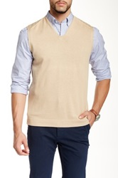 Faconnable Sweater Vest Beige
