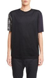 Lanvin Men's Colorblock T Shirt
