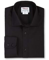 T.M.Lewin Poplin Slim Fit Shirt Black