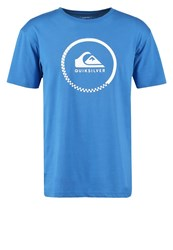 Quiksilver Print Tshirt Star Sapphire Turquoise