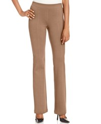 Styleandco. Style And Co. Bootleg Pull On Ponte Pants Only At Macy's New Rye