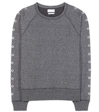 Rag And Bone Classic Cotton Blend Sweatshirt Grey