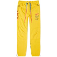 Off White Industr Y013 Panelled Sweat Pant Yellow