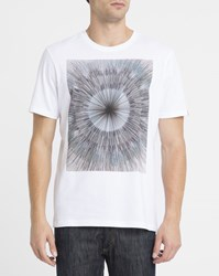 Element White Sunny Print T Shirt