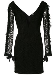 Martha Medeiros Lace Mini Dress 60