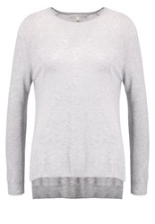Tom Tailor Denim Jumper Light Asphalt Melange Light Grey