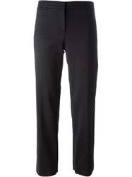 Versace Cropped Trousers Black