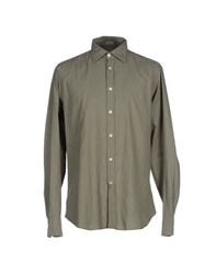 Hartford Shirts Shirts Men Military Green