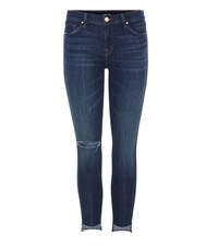 J Brand Low Rise Cropped Jeans Blue