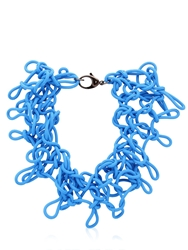 Alienina Odyssee Rubber Necklace Azzurro