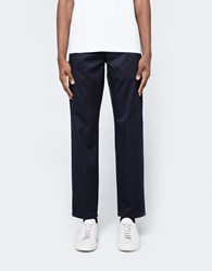 Acne Studios Alfred Cotton Trousers Dark Navy