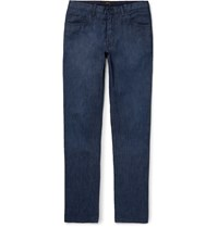 Brioni Meribel Stretch Denim Jeans Blue