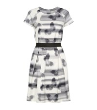 Escada Sport Butterfly Print A Line Dress Female Multi