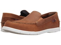 Sebago Litesides Slip On Light Brown Leather Men's Slip On Shoes