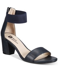 White Mountain Elinie Dress Sandals Only At Macy's Women's Shoes Navy