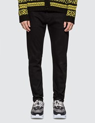 Versace Medusa Rivet Slim Fit Jeans Black