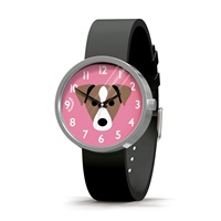 Newgate Watches Mr Big Hugs Woof Black Pink Purple