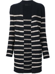 Jenni Kayne Striped Cardigan Blue