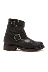 Frye Valerie 6 Boot With Shearling Lining Black