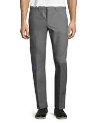 Vince Madison Straight Leg Trousers Heather Gray