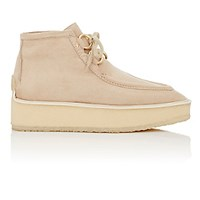 Stella Mccartney Women's High Clipper Platform Ankle Boots Nude